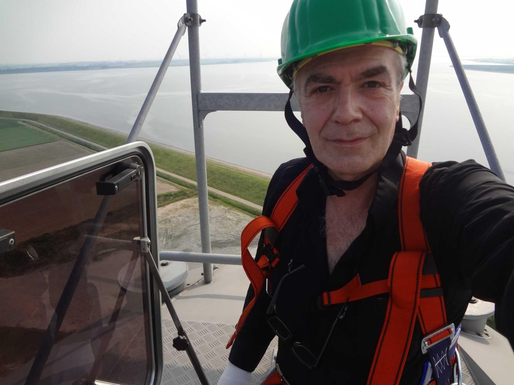 CEO bei Windpark Demontage