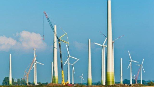 NEOCyce Enercon Windpark Dismantling